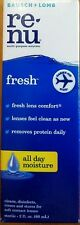 Bausch & Lomb Re-Nu Multi Purpose Solution Fresh  Saline for Contact Lens 2 oz
