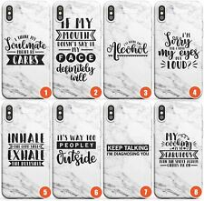 Bitchy Sassy Quotes Slim TPU Case for iPhone | Quote Sassy Bitchy Funny Cute