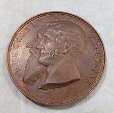 Médaille de cuivre rouge  - Cinquantième anniversaire de l'indépendance de la Be