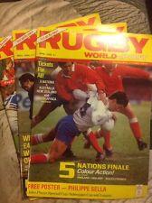 Joblot Of 3 RUGBY WORLD & POST APRIL-JUNE 1986