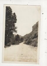 Highway Through Ten Sleep Canyon Wyoming USA [Talbott 322] RP Postcard 936a