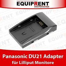 Lilliput Akkuadapter für Panasonic CGA-DU21 Akku und Lilliput Monitore (EQD01)