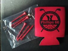 New, Phillips 66 Golf Cup, Coozie + 6 Golf Tees, Gasoline, Coolie, Unopened, Gas