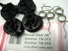 4 x Reset Gear for Brother TN315 TN-315 TN310 TN-310 Toner Cartridge Refill