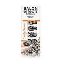 Sally Hansen Salon Effects Couture Nail Stickers Faux Real 18 Count