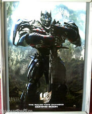 Cinema Poster: TRANSFORMERS AGE OF EXTINCTION 2014 (Optimus Prime One Sheet)