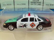 JOHNNY LIGHTNING - MONOPOLY - DO NOT PASS GO - CROWN VICTORIA POLICE CAR / TOKEN