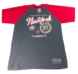 New York Black Yankees Mens 3XL Negro League Baseball Anniversary T-shirt NWT