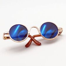 Blue Round Sunglasses glasses For 1/6 11in 27CM YOSD AOD LUTS DK DZ  BJD Doll