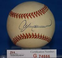 ANDRE DAWSON JSA CERTIFIED AUTOGRAPH NATIONAL LEAGUE BASEBALL SIGNED AUTHENTIC