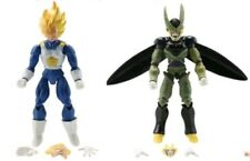 2 PERSONAGGI DRAGON BALL CELL & VEGETA 16Cm. Super Z Sayan Modellino Statuina