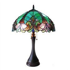 Chloe Lighting Tiffany Style 2 Light Table Lamp CH16780VG16-TL