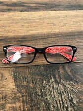 Ray-Ban Eyeglasses Women RB5206 2479 Black/Red Full Rim 52[]18 140 G12