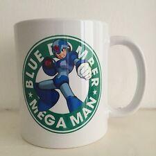 Megaman Capcom Mega Man Starbucks Nintendo Videogame MUG