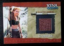 GC1 Gabrielle Costume Xena Warrior Princess Season Six 6 trading card