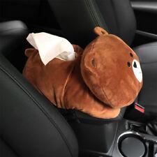 Cute Cartoon Bear Plush Toy Tissue Box Cover Paper Home Car Napkin Holder Case