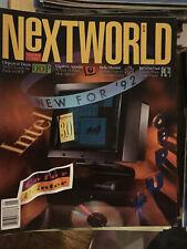 NeXT World Magazine SPRING 92 Steve Jobs NeXT Cube NeXTSTEP and AppWrapper CD