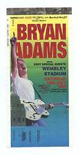 Bryan Adams Ticket Stub 1992 Jul 18 Wembley Stadium London UK