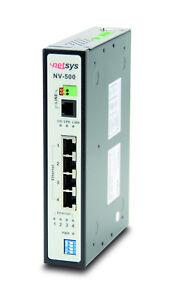 1 Paar Netsys - NV-500 Industrial Grade VDSL2 Bridge with DIP Switch (2Stück)