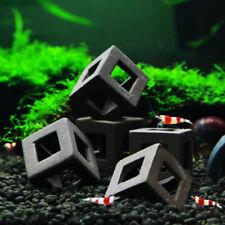 5pcs Hiding Cave Pottery Clay Shrimp Ceramic Stone Aquarium Ornament Fish Decor