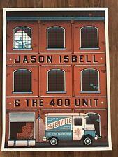 Rare! Jason Isbell Greenville Sc 2019 Ap Signed Poster Print S/N #xx/35