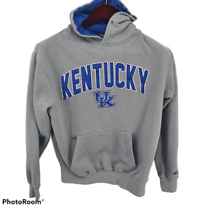 University Of Kentucky Wildcats UK Gray Hoodie Colosseum Athletics Mens Small *