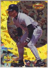 1998 BOWMAN'S BEST ATOMIC REFRACTOR #75: BOBBY HIGGINSON #22/100 DETROIT TIGERS
