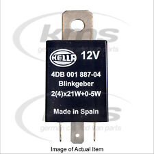 New Genuine HELLA Flasher Relay Unit 4DB 001 887-041 Top German Quality