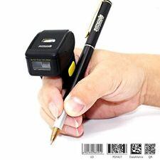 Bluetooth Ring 1D 2D Qr Barcode Scanner,Wearable Wireless