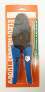 HS-05FL Ratchet Crimp Tool for Non-insulated 4.8mm and 6.35mm FLAG Terminals