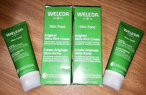 2 PACK WELEDA Skin Food Original Ultra-Rich Cream 2.5 fl oz Each FAST SHIPPING!!