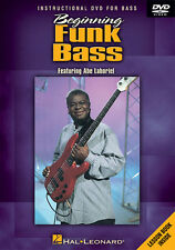 Beginning Funk Bass Guitar Lessons Learn How to Play Video Hal Leonard DVD NEW