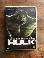 l'incroyable hulk  DVD film américain avec edward norton liv tyler 2 discs