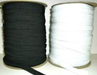 12mm Elastic Cord with Flat Stretchy  for Sewing Skirt Trousers Arts & Crafts