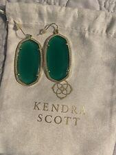 Kendra Scott - Danielle Earrings - BRAND NEW - Green