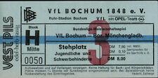 Ticket BL 86/87 VfL Bochum - Borussia Mönchengladbach, 06.09.1986
