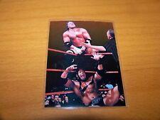 WWE WWF TRIPLE H VS. THE ROCK 1999 COMIC IMAGES SMACKDOWN CHROMIUM #84