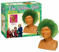 New listing Chia Pet Golden Girls-Rose Decorative Pottery Planter Easy to Do and Fun to G.