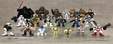 Lot of Star Wars Galactic Heroes Action Figures Playskool