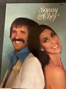 SONNY & CHER 1977 Tour Concert Program Tour Book