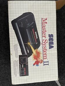sega master system 2 console, Boxed, Inserts, And Games