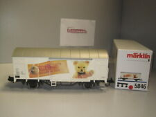 """** Märklin Spur 1 5846 Güterwagen """"Margarethe Steiff GmbH"""" SoMo NEU! Marklin **"""