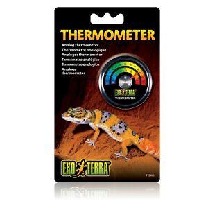 Exo Terra Rept O-Meter Thermometer Reptile Tank Temperature
