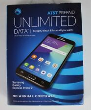 Samsung Galaxy Express Prime 2 4G LTE 16GB Memory AT&T Prepaid No Contract