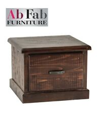 COBAR LAMP TABLE FULLY CONSTRUCTED QUALITY  SOLID TIMBER 1 DRAWER -