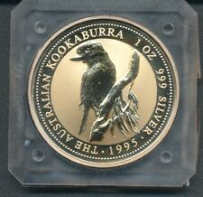 1995 Australia  ONE Dollar The  Australian Kookaburra Argento  999 FDC