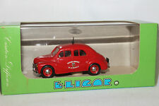 Eligor, 1955 Renault Fire Chief Car, 1/43 Scale Diecast, New in Box