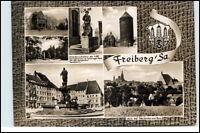 FREIBERG Sachsen DDR Mehrbild-AK 1967 ua. Petri-Kirche u. Studenten-Wohnheim