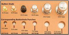 Button Stud 15mm Screwback Nickel 11313-02