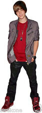 JUSTIN BIEBER Stands Full Body Promotional Shot WindoCling StickOn FREE SHIPPING
